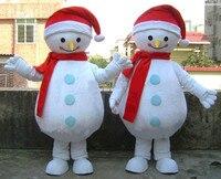 Высокое качество Продажа Рождество снеговик талисмана Рождество партии производительность талисман костюм взрослый размер
