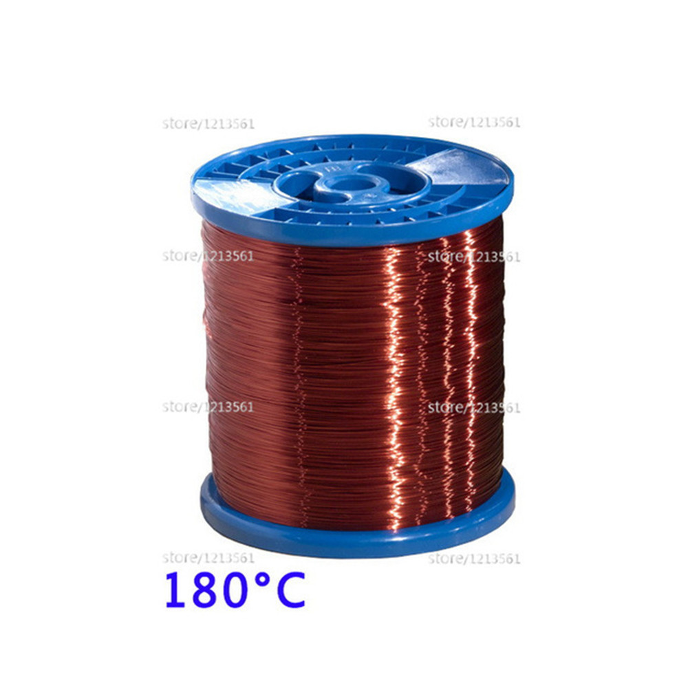 BNTECHGO 28 AWG Magnet Wire Enameled Magnet Winding Wire 16 oz 0.0126 Diameter 1 Spool Coil Red Temperature Rating 155 Degrees C Widely Used for Transformers Inductors Enameled Copper Wire