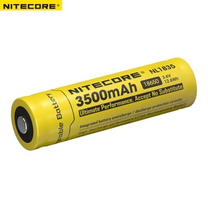 Image 2 - Nitecore NL1835 18650 3500mAh(new version of NL1834)3.6V 12.6Wh Rechargeable Li on Battery high quality with protection