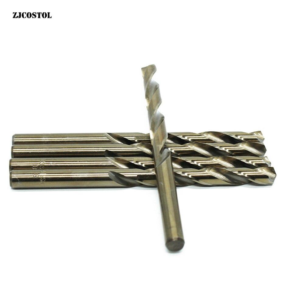ZJCOSTOL Hss M35 Cobalt Drill For Metal WoodWorking Twist Drill Bit For Stainless Steel Aluminum Alloy Brocas Para Madera