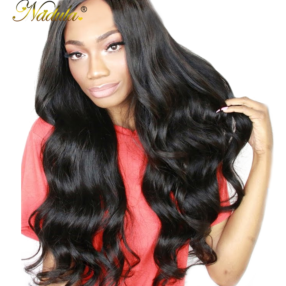 Nadula Hair Malaysian Body Wave Hair 3piece Lot Human Hair Bundles 8 30inch Remy Hair Weaves