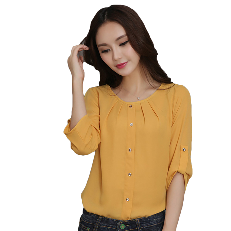New Womens Tops Fashion 2018 Women Summer Chiffon Blouse Plus Size Ruffle Batwing Short Sleeve Casual Shirt