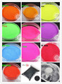 12 Neon Matte colors  0.1MM 004 solvent resistant  fine Glitter Powder for nail decoration and others DIY Accessories