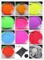 12 de Neón de colores Mate 0.1 MM 004 Polvo fino Brillo resistente a los disolventes para la decoración de uñas y otros Accesorios de BRICOLAJE