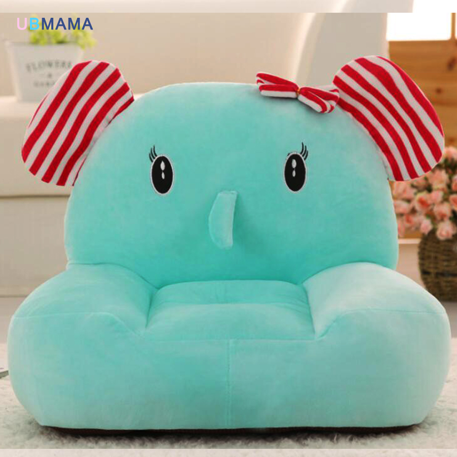 Large Size 50*45*45 Cm Cotton Fill Children Small Sofa Chair Lazy Chair Backrest Tatami Plush Toys Give Children Baby Gift Ideas