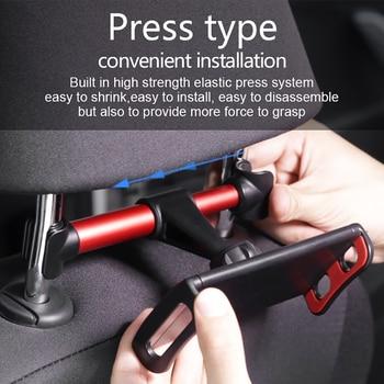 Powstro Car Headrest Tablet Mounting Bracket for Backseat