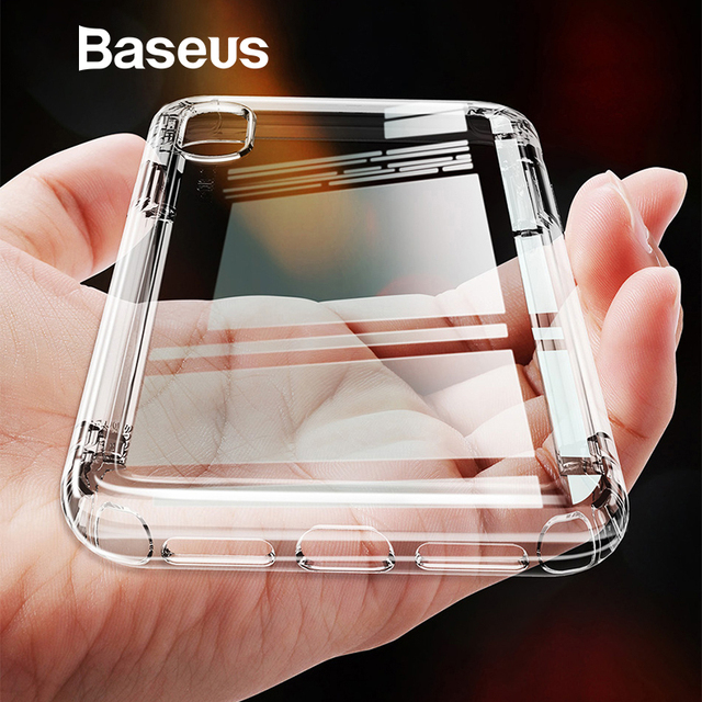 BASEUS Soft Fitted Cover for iPhone XS Max XR Case Safety Airbags Series Flexible TPU Dustproof Phone Cover for iPhone Xs Capa
