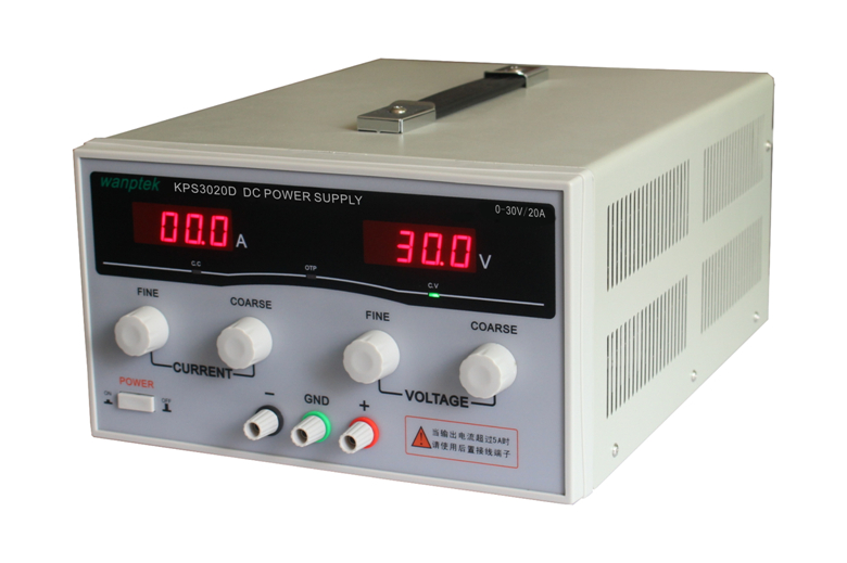 KPS3020D high precision Adjustable Digital DC Power Supply 30V/20A for scientific research Laboratory Switch DC power supply