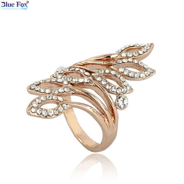 special clearance 2016 new fashion jewellery high end big wedding ring bohemian gold rings for women - Clearance Wedding Rings