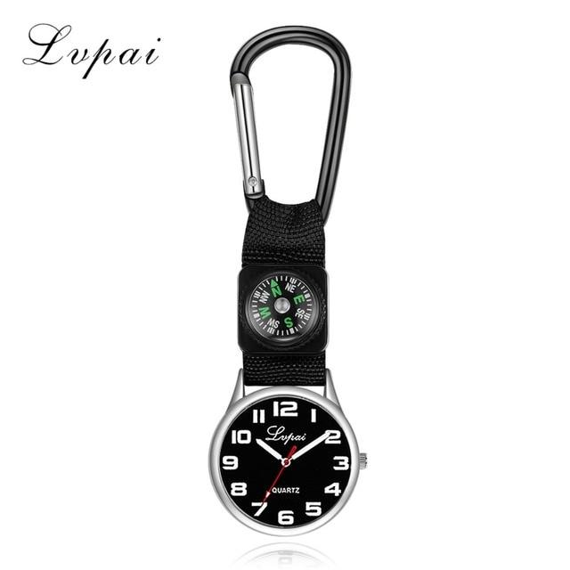 d6ea243e000 Lvpai Marca 2017 Moda Casual Mulheres Relógios de Pulso de Quartzo de Prata  Mostrador Preto de
