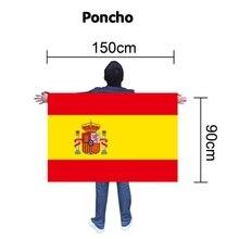 International font b Football b font Match Flag Cloak Spanish Flag Cloak International font b Football