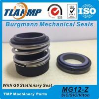 MG1S20/18 G6 MGS20 18/G6 بورغمان الأختام الميكانيكية (المواد: سيك/سيك/فيت/SU316) مع مقعد ثابت G6 (الطول الدوار: L3) الأختام    -