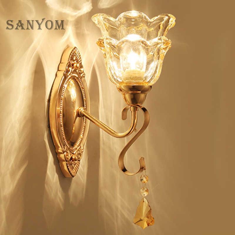 роскошные бра в интерьере настенный светильник спальню гостиную подсветка над