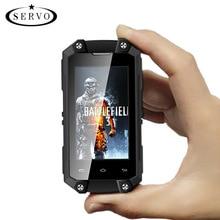 Original SERVO J5 Plus 2.45″ MTK6580 mini Smartphone Android 5.1 RAM 1GB ROM 8GB Camera 5.0MP WCDMA IP65 Waterproof Mobile Phone