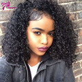 brazilian virgin hair kinky curly wig full lace human hair wigs for black women with baby hair curly human hair wigs 150%denisty
