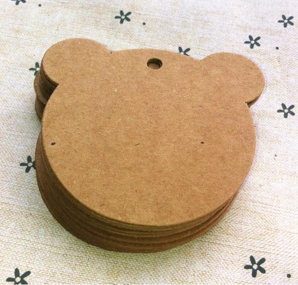 6 6cm Kraft Paper Baby Face Mark Products Cardboard Label Clothing Garment Tags Words Blank Id Card 500 Pcs Lot In From Home Garden