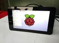 E & M 7 дюймов 600*800 ips 10 точек емкостный сенсорный экран дисплея ЖК дисплей модуль HMDI портативный Raspberry Pi 3 мониторы