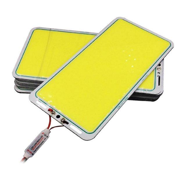 ICOCO 12V 70W 7000LM LED Panel Strip COB Chip Lamp flicker No UV Band for Car