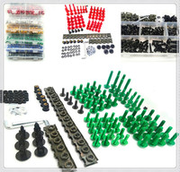 Motorcycle Fairing CNC Body Bolt Kit Screws set Nuts nut aluminum Screw For Kawasaki NINJA 650R ER6F ER6N VERSYS W800 SE Z750S