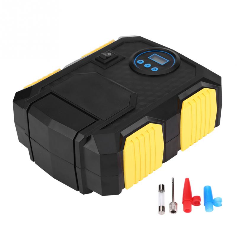 DC 12 V numérique Portable voiture pneu gonfleur pompe compresseur d'air 150PSI pour voitures balles vélos voiture accessoires