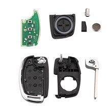 3 Buttons Remote Key Folding Flip 433MHz ID46 For HYUNDAI Elantra Avante Sonata Santa Fe Eon Click Accent Solaris Avega santa fe junior