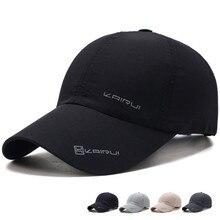 Спортивная Кепка для бега на открытом воздухе, бейсбольная кепка с сеткой, Мужская быстросохнущая летняя кепка с козырьком