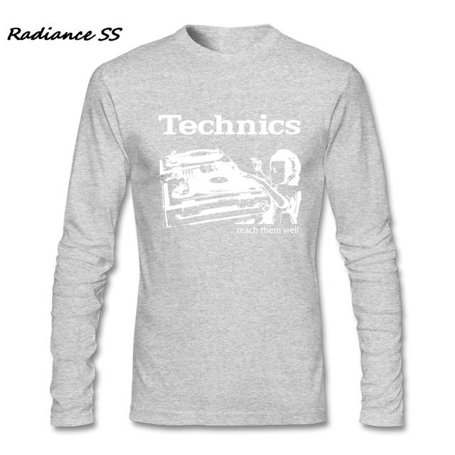 9846ede93 placeholder T shirt Mens Technics Vintage New Arrival Wholesale Hip Hop T- shirt Casual Long Sleeve
