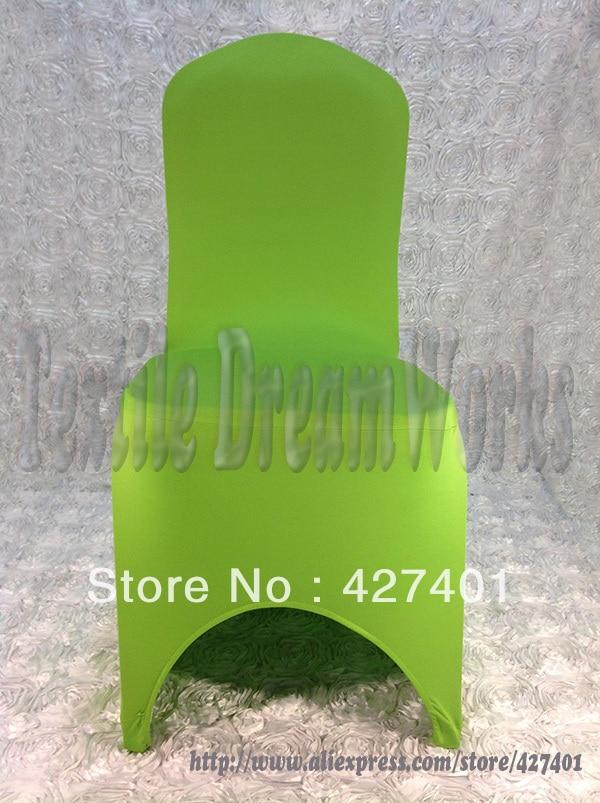 Vente Chaude Vert Pomme Lycra Couverture De Chaise Spandex Housses Mariage Pour Le Dcoration Party