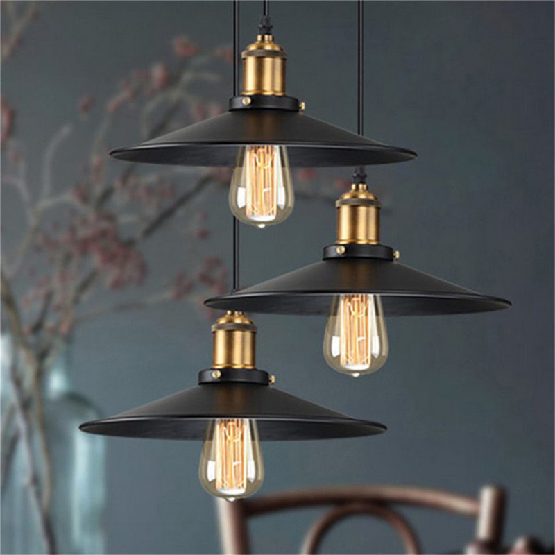 1PC Metal Ceiling Light Vintage Retro Chandelier Loft Hanging Light Lampshades For Russia/American Dining Room Dining Lighting loft vintage edison glass light ceiling lamp cafe dining bar club aisle t300