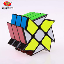 YJ Wind Fire Wheel Magic Speed Cubes 3x3x3 Puzzles Cube Professional Education Cubo Magico Toys Christmas gifts For Children