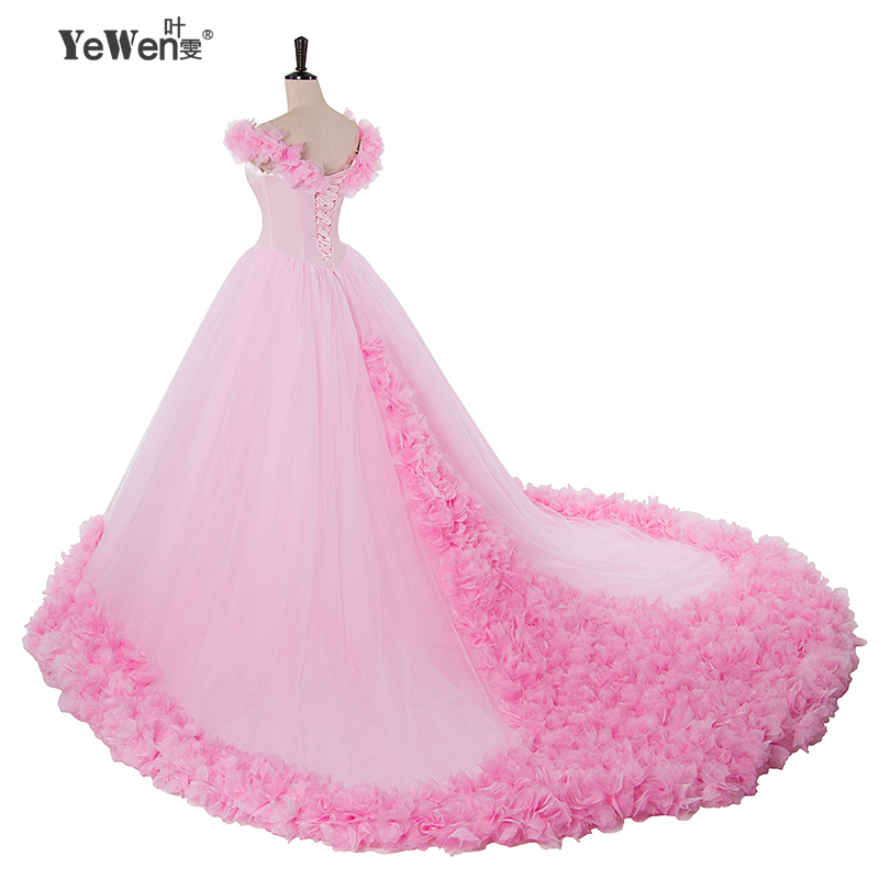 Tienda Online Rose moda de lujo mariposa hombro Bola de boda con ...
