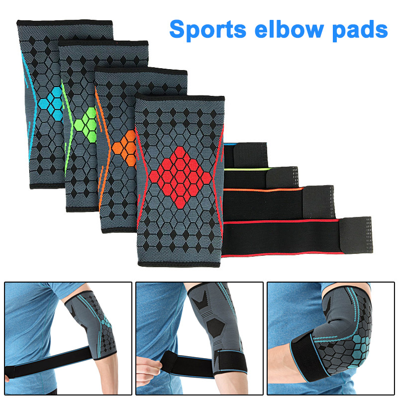 Fitness & Body Building Amicable 2019 Hot 1 Pcs Elbow Support Strap Forearm Protector Breathable For Tennis Basketball Sport Asd88 Office & School Supplies
