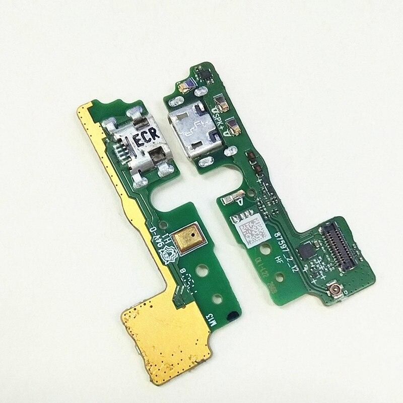 Оригинальный док разъем с микрофоном, usb порт для зарядки, гибкий кабель для Huawei Honor Play 6A|Шлейфы для мобильных телефонов|   | АлиЭкспресс