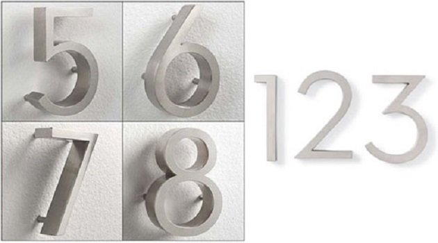 3D House Numbers