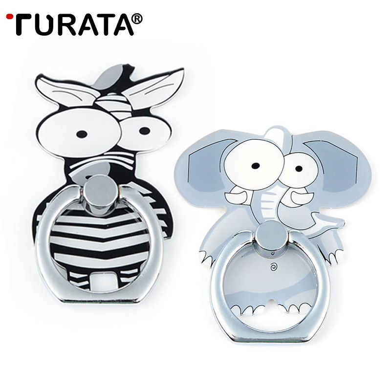 TURATA Animal Phone Holder Portable Airbag Stander Hand finger Hold Mobile Phone Sockets Universal Socket for iPhone 76S Xiaomi