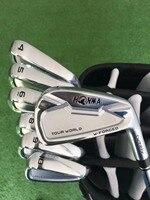HONMA TOUR WORLD TW737V утюги для гольфа набор 4 10 Утюги Клубы с валом N. S. PRO 950/HONMA 737 в Гольф Утюг