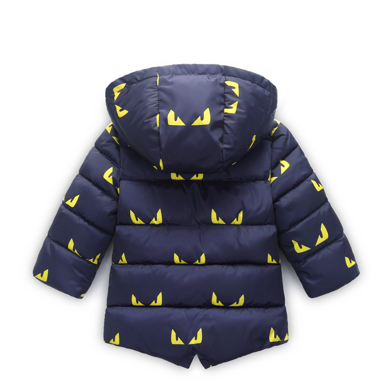 8f32c4f3777e Winter Jacket for Baby Cartoon Print Toddler Boy Jackets with fur Hooded  Autumn Boys Clothing 1 2 3 4 5 6 years - aliexpress.com - imall.com