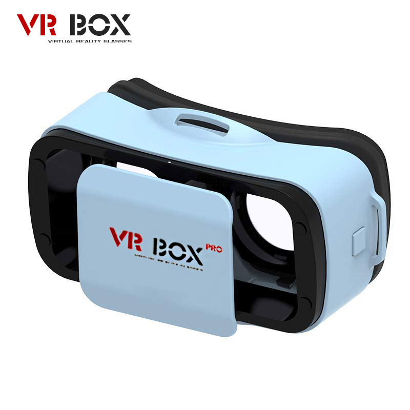 VR BUCINUM VR BOX 3.0 PRO 3D Glasses Immersive Virtual Reality VR Headset with 3 Color for 4.5-5.5″ IOS & Android Smartphones