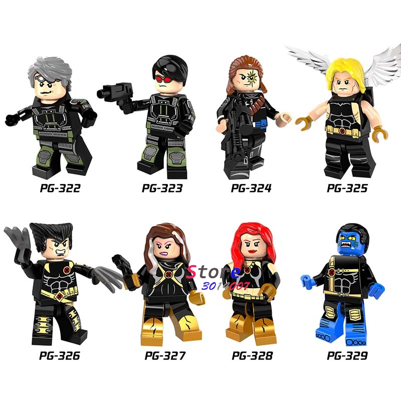 Single Longshot Figure Ultimate Angel Wolverine Rogue Jean Grey Beast Quicksilver Cyclops building blocks toys for children скатерть angel ya children tsye zb266 88