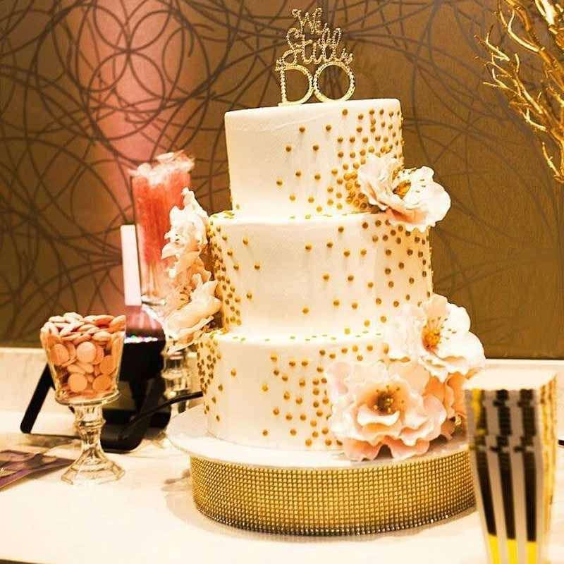 WE STILL DO Rhinestone Cake Topper for 10th 25th 30th 50th ...