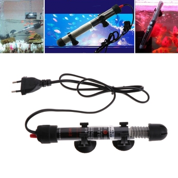 25/50/100/200/300W Aquarium Digital Thermometers Adjustable Water Temperature Thermostat Heater Rod Fully submersible heater