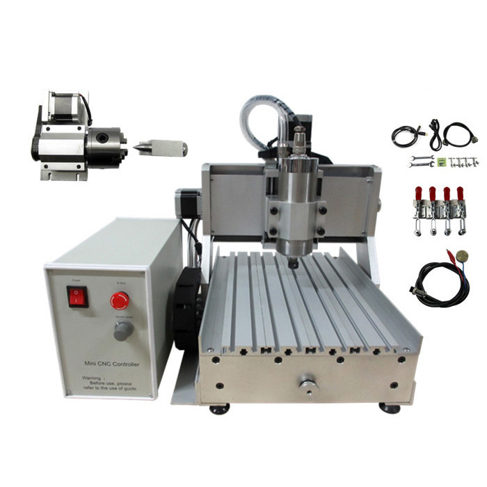 LY CNC 3020 Z-VFD 1.5KW 4axis CNC Router Engraver/Engraving Drilling and Milling Machine for Model Making, PCB Artwork etc 4 axis cnc machine cnc 3040f drilling and milling engraver machine wood router with square line rail and wireless handwheel
