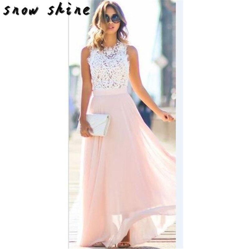 snowshine YLI Women Summer Fashion Lace Sexy Beach Dress free shipping