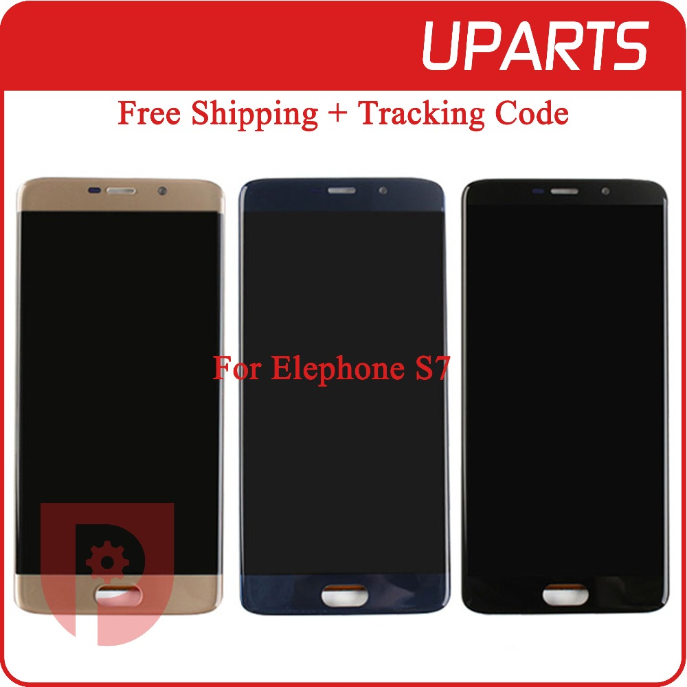 A++ High Quality 5.5 For Elephone S7 LCD Display + Touch Screen Assembly LCD Digitizer Glass Panel Replacement Free Shipping