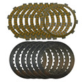 A set Motorcycle Engine Parts Clutch Friction Plates Kit & steel plates For HONDA CRM250 CRM 250 246