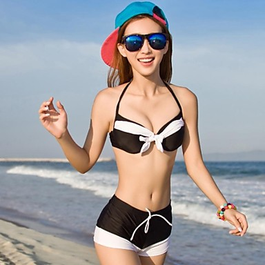 Women's Hoodies Boxer Bikini Swimsuit