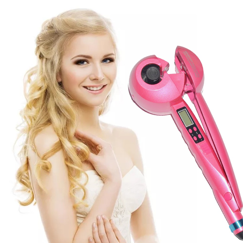 Fashionable Wave Hair Curling Iron Electric Wand Corrugate Magic Easy Roll Stick Anti scalding Artifact CW29