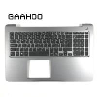Brand new original laptop TR TURKEY keyboard for DELL INSPIRON15 5000 5565 5567 Palmrest assembly keyboard w/o backlight GRAY