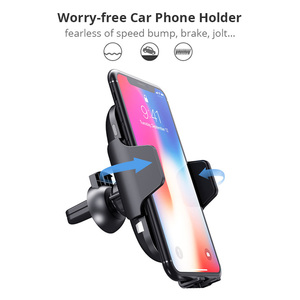 Image 4 - 10 W charge rapide Qi chargeur de voiture sans fil Auto serrage capteur infrarouge support pour téléphone chargeur induction pour iPhone X XS XR Max 8 Samsung S8 S9 S10 Plus Xiaomi mix 2s Mix3 Mi9 huawei Mate20 Pro