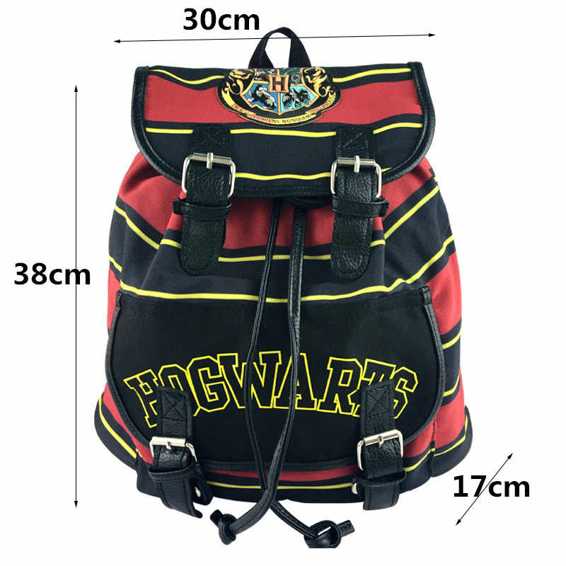 8d41ef1452 ... Action figure for child harri potter backpack hogwarts knapsack backpack  cosplay harri potter bags Cosplay Props ...